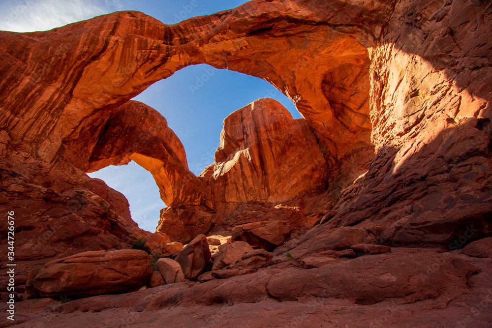Fototapeta Beautiful view of Arches National Park, United States