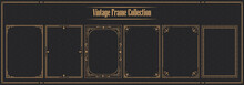 Luxury Vintage Ornamental Frame Collection
