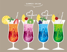 夏 飲み物 ジュース...
