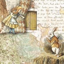 Alice In Wonderland Collaged S...