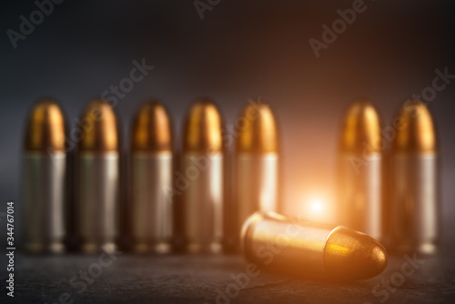 Bullet 9mm Canvas Print