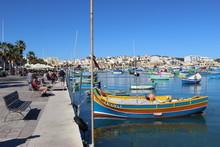 Quais De Marsaxlokk (Malte) Av...