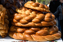 Stack Of Traditional Colaci Or...
