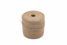 Skein Of Jute Twine Isolated O...