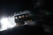 Model Car With Smoke
