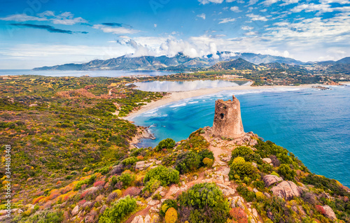 Canvastavla View from flying drone