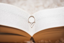 Wedding Ring Reflecting Heart ...