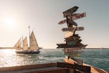 Sailboat On The Sea Key West