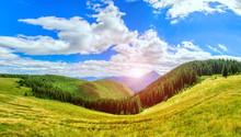 Beautiful Panorama Of The Vall...