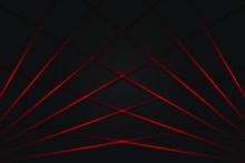 Red Light Line Shadow Dark Gre...