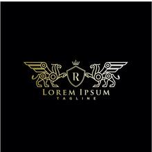 Heraldic, Luxury Griffin Logo ...