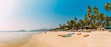 Canacona, Goa, India. Canoe Ka...