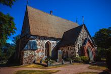 A Medieval Stone Nauvo Church ...