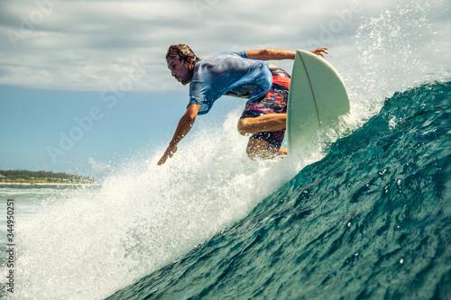 True Surfing Canvas Print