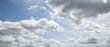 Leinwandbild Motiv Himmel Wolken