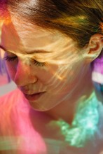 Daydreaming In Crazy Holographic Light