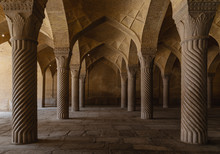 Inside The Mosque, Shiraz, Iran