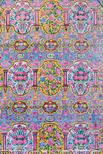 Floral Tiles In Pink Mosque
