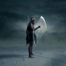 Afrofuturism Tribal Warrior
