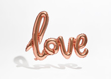 Inflatable Love Foil Balloon