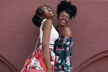 Two African Girls In The Summe...