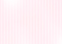 Pink Striped Background With L...