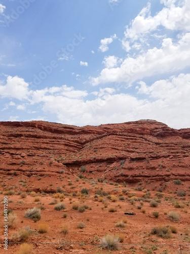 Red Arizona Hillside