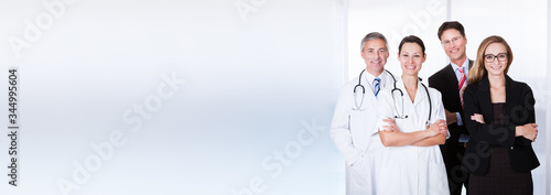 Fototapeta Professional Hospital Staff obraz