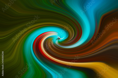 Fotografie, Obraz Grafica colorata
