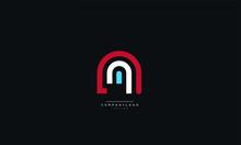 Letter N Logo Design Icon Vect...