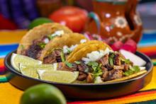 Fresh Carne Asada Tacos