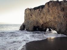 Beautiful Shot Of El Matador State Beach In Malibu, California