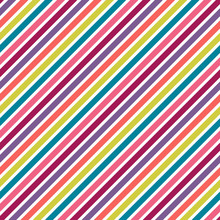 Stripes Seamless Pattern - Colorful Stripes Repeating Pattern Design