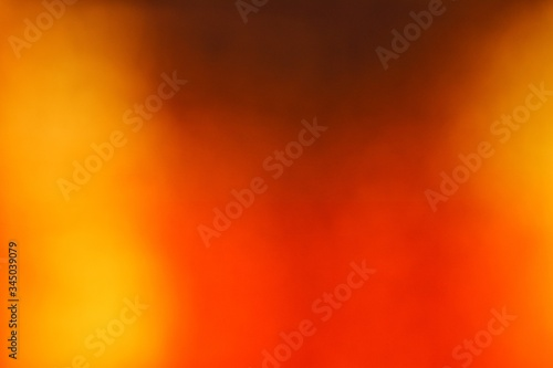 Abstract yellow and orange gradient background. Wallpaper Mural