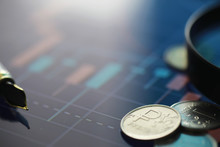 """Coins With The Inscription """"ru..."""
