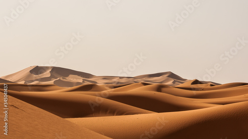 Fotografering adventure, africa, background, beautiful, blue, chebbi, clear, color, day, deser