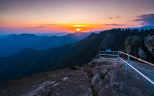 Moro Rock In The Evening In Se...