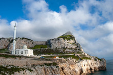 The King Fahad Bin Abdulaziz Al Saud Mosque At Europa Point, Gibraltar