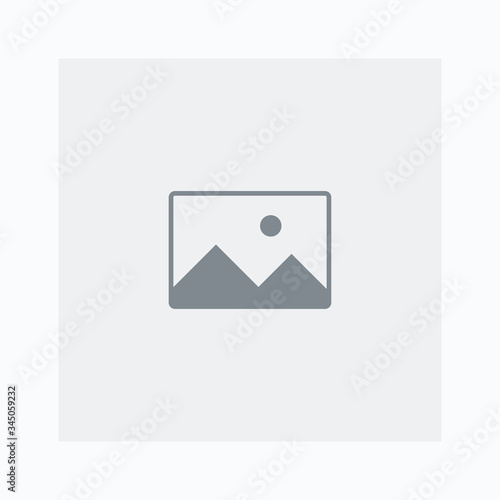 Image preview icon. Picture placeholder for website or ui-ux design. Vector illustration. © paul_craft