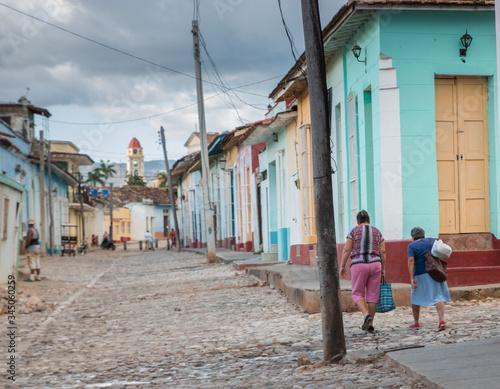 Trinidad, perle de Cuba Canvas Print