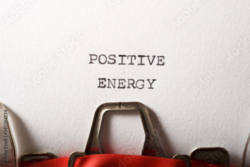 Positive energy text