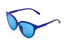 Blue Vintage Glasses Isolated ...