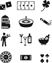 Casino Gambling Poker Vector I...