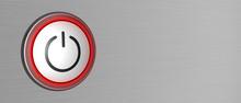 Power Button Push Start Symbol...