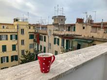 Polka Dot Mug With Views Of Th...