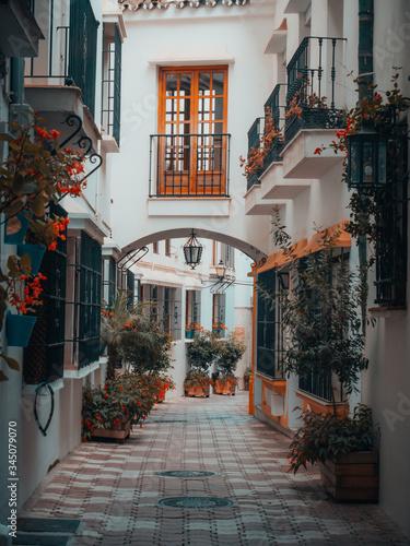 Photo Casco antiguo de Marbella, ciudad de la Costa del Sol