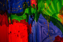 Abstract Colored Wall Paints V...
