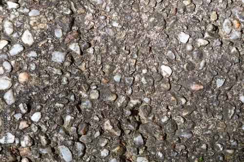 Photo Rough Aggregate Concrete macro background texture