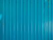 Blue zinc wall texture, surface of blue zinc background