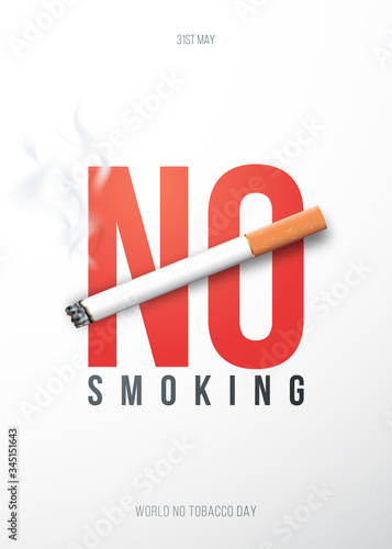 Obrazy młodzieżowe   koncepcja-afisz-z-3d-realistyczny-papieros-i-tekst-zakaz-palenia-rzuc-projekt-palenia-zbiory